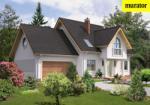 Проект одноэтажного дома с мансардой  - Муратор Ц30а