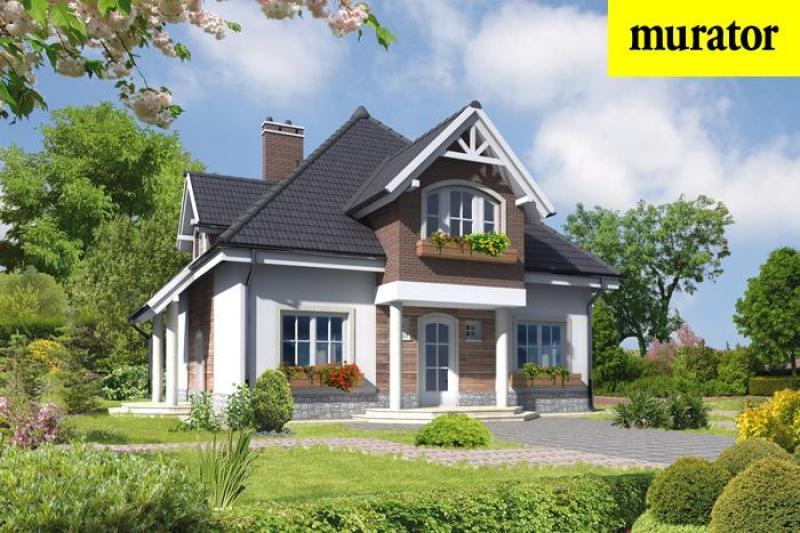 Проект одноэтажного дома с мансардой - муратор ц245 rpm2001 .
